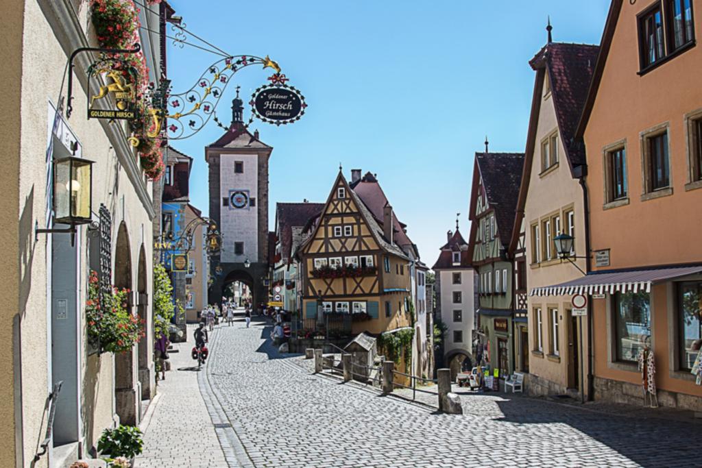 historische Städte Franken