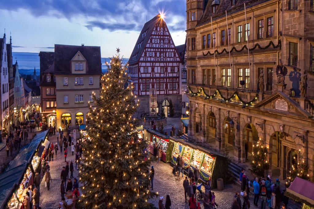 Weihnachtsmarkt Rothenburgb
