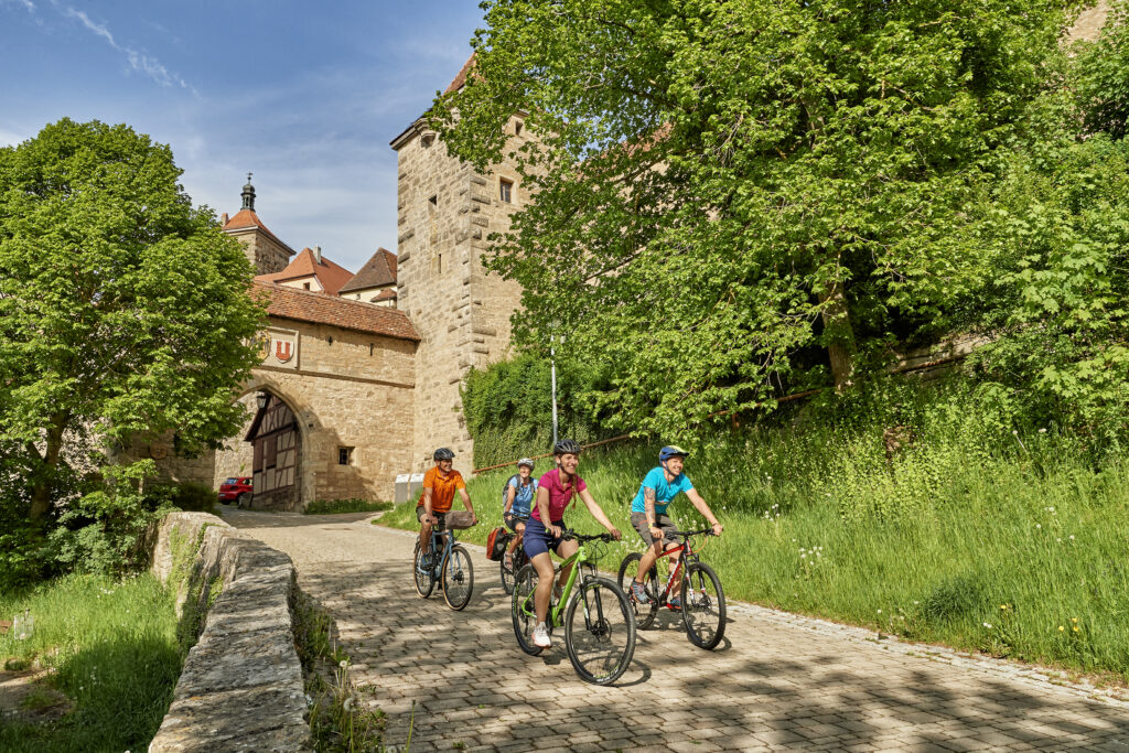 Radtour Rothenburg ob der Tauber