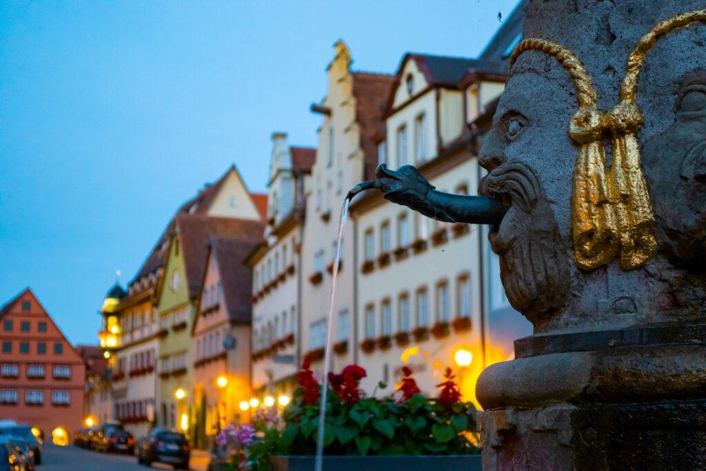 Herrenbrunnen Rothenburg ob der Tauber